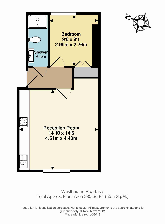 Floor Plan Flat 1