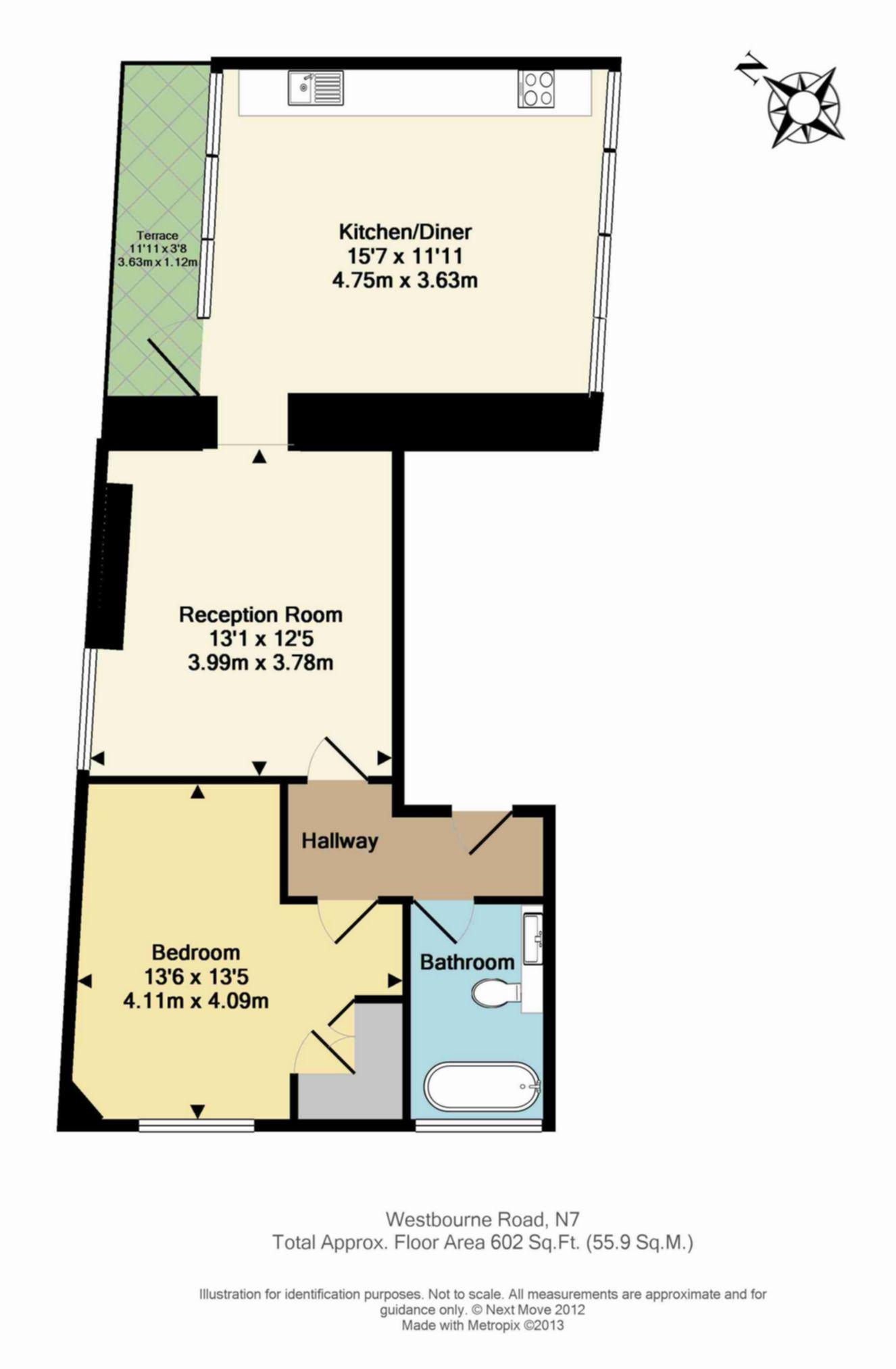 Floor Plan Flat 4