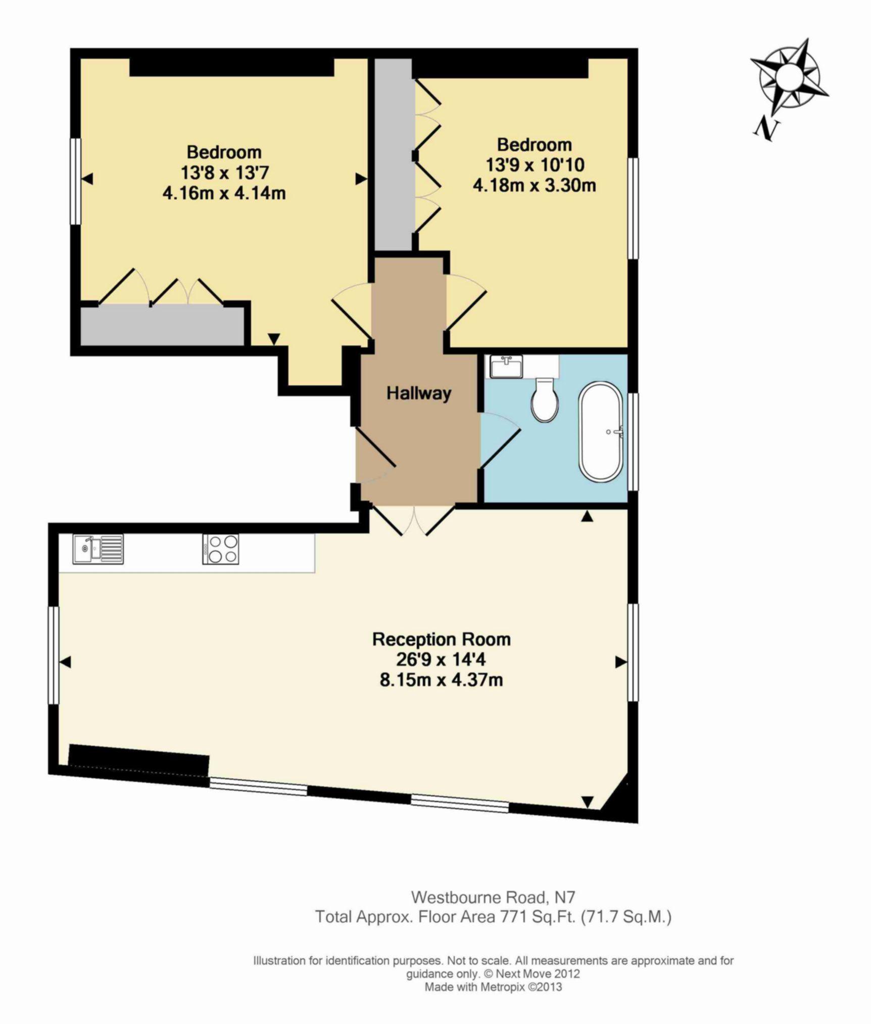 Floor Plan Flat 5