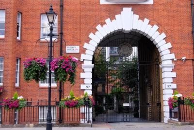 Gladstone Court  Regency Street  Pimlico  SW1P