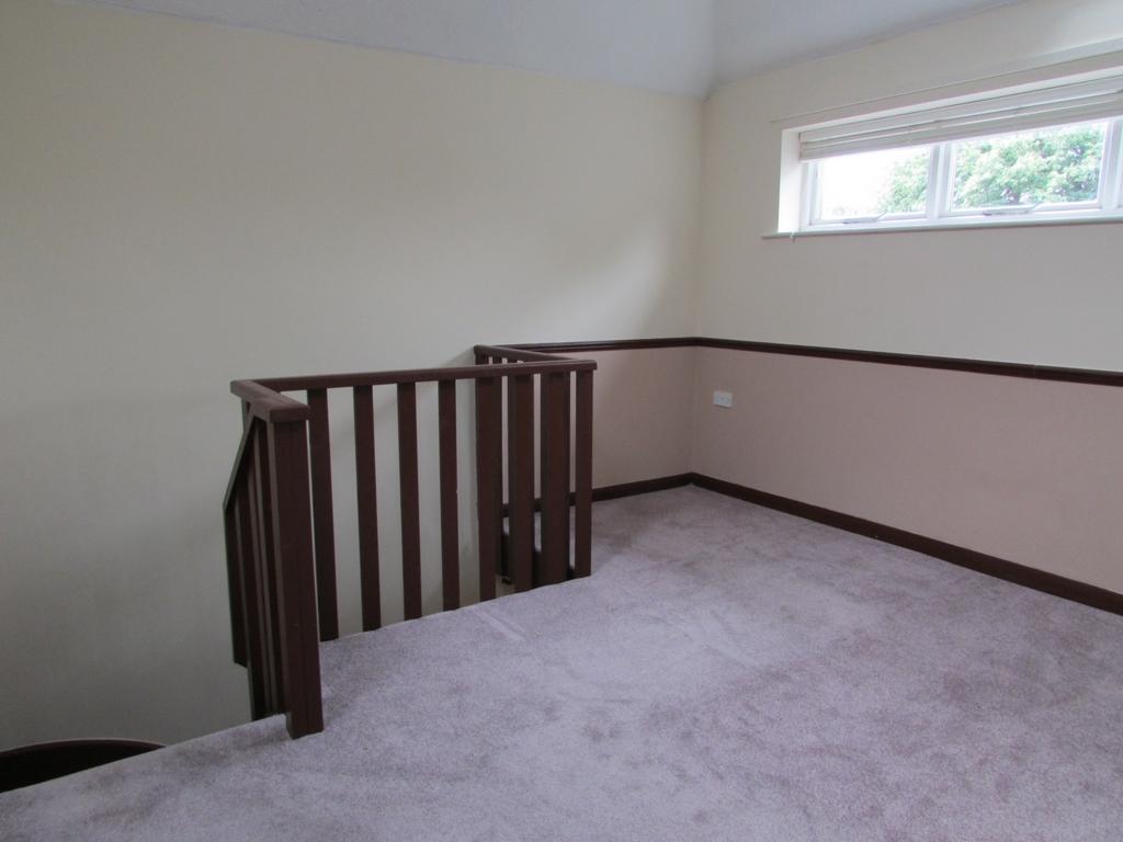 Galleried bedroom