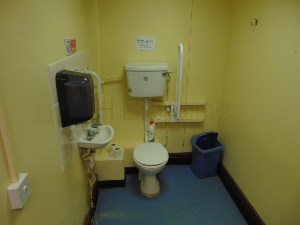Customer toilet